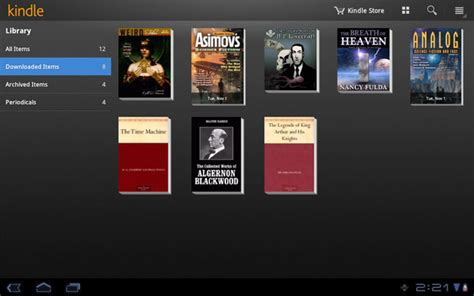 kindle android new app turns any android device into a kindle