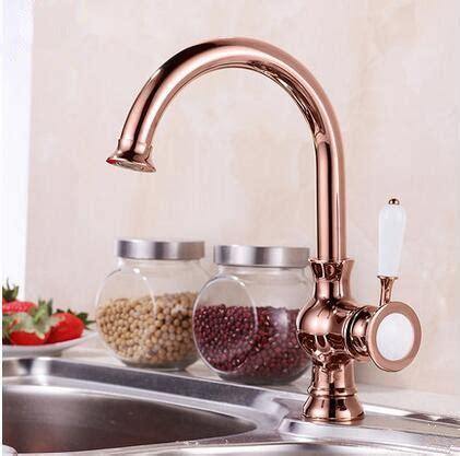 Antique Brass Rose Gold Kitchen Sink Tap TA0218R [TA0218R