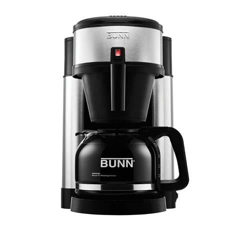 We will not move to the. BUNN NHS 10 Cup Velocity Brew Coffee Maker Black and Stainless Brewer