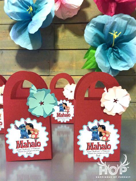disney lilo  stitch hawaiian luau party favors