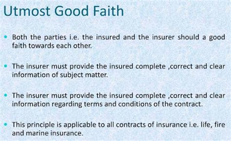 Uttermost Meaning - principles of insurance 7 basic general insurance principles