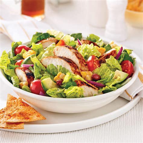 cuisine romaine salade mexicaine au poulet recettes cuisine et