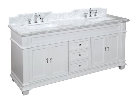 the best white bathroom vanities with white marble top review