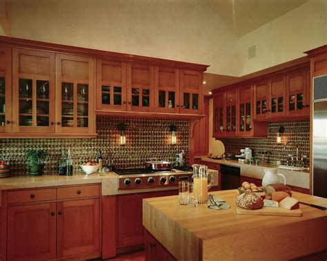 arts and crafts kitchen cabinets custom an arts and crafts kitchen by steepleview cabinetry 7513