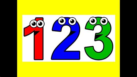 """counting To 10""  10 Little Numbers Song, Learn To Count 1 To 10 Youtube"