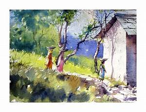 Artists of India: My latest work in Watercolours : Amit Kapoor