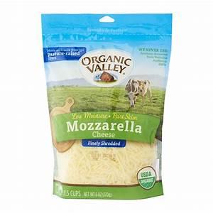 Organic Valley Shredded Mozzarella Cheese 170g - from RedMart