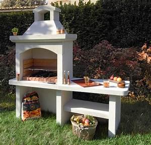 barbecue en beton cellulaire caracteristiques et prix With peinture pour barbecue beton