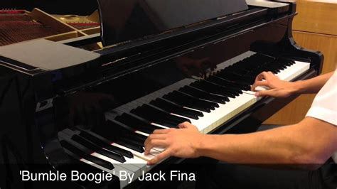 Bumble Boogie' By 'jack Fina' Piano Cover (hd) + Sheets