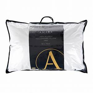 buy a by amara anti allergy hollowfibre pillow firm amara With buy firm pillows