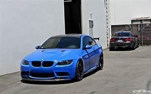 Santorini Blue BMW E92 M3 Gets Serious at EAS - autoevolution