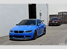 Santorini Blue BMW E92 M3 Gets Serious at EAS autoevolution