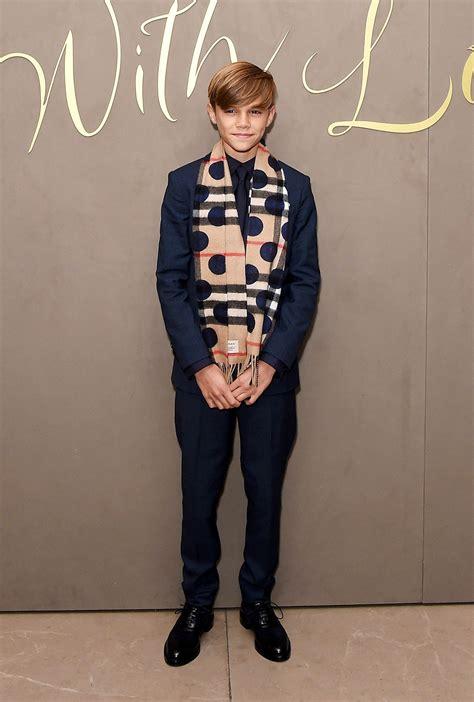 Romeo Beckham, 13-Year-Old Style Prince, Nails Single ...