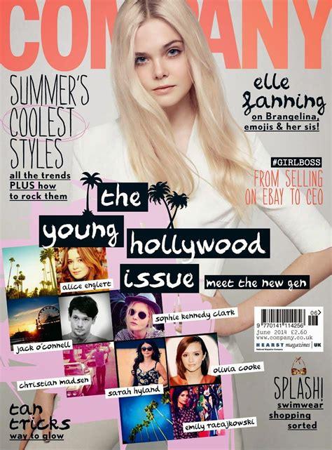 elle fanning company magazine [united kingdom] june 2014