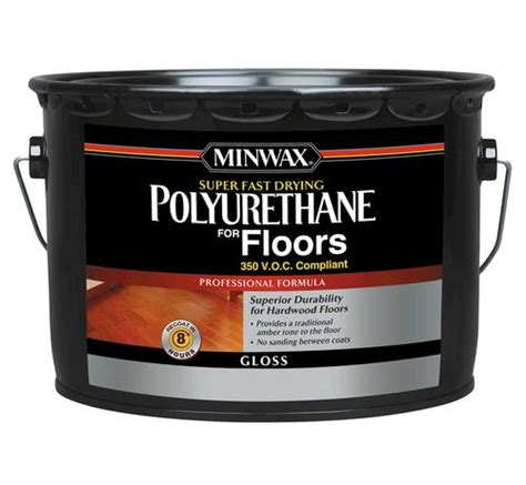Minwax Fast Drying Polyurethane For Floors by Minwax Fast Drying Clear Gloss 350 Voc Polyurethane
