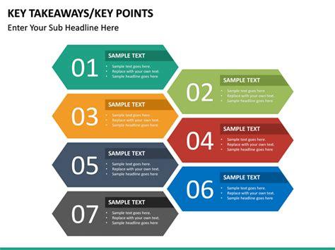key takeaways powerpoint template sketchbubble
