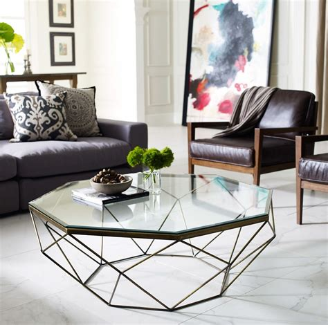Pick one with a pedestal base or metallic legs for a more modern look, or choose a wooden base for a. 30 Glass Coffee Tables that Bring Transparency to Your ...