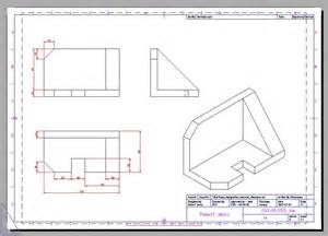 Isometric Projection Drawings