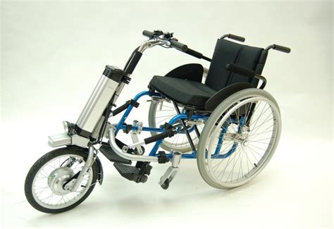 chaise roulante occasion firefly electric wheelchair cycle attachment with
