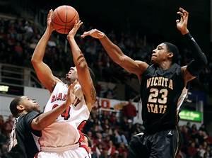 Bradley-Wichita State basketball | James Brosher Photography
