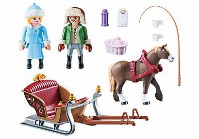 Winter Sleigh Ride Playmobil Zoom