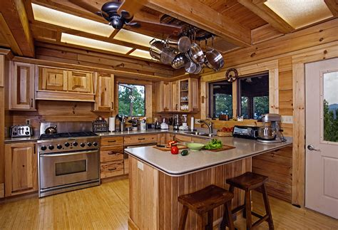 cabin kitchens kitchen charming images of various rustic cabin kitchens Rustic
