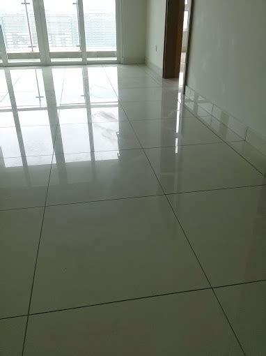 porcelain tiles damage restoration  polishing malaysia