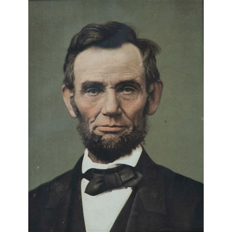 Lot of Two Tinted Lincoln Portraits   Cowan's Auction ...