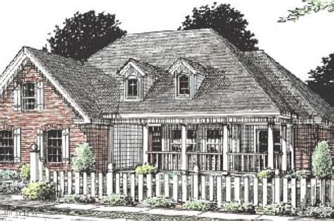 Country Style House Plan 3 Beds 2 Baths 1604 Sq/Ft Plan