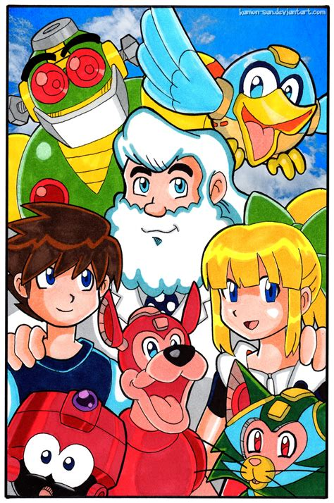 Mega Man Favourites By Shizukuosakafan99 On Deviantart