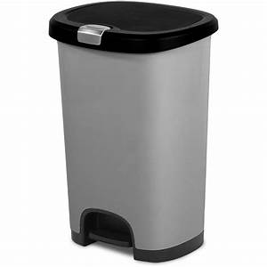 Trash Can. extraordinary plastic kitchen trash cans ...
