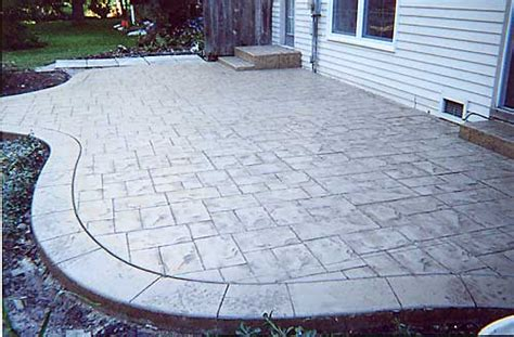 sted concrete backyard ideas concrete in designs presents patio ideas
