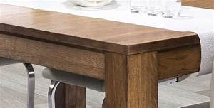 Table Extensible Bois Massif : table avec rallonge en bois massif loft mobilier en chene massif pas cher ~ Teatrodelosmanantiales.com Idées de Décoration
