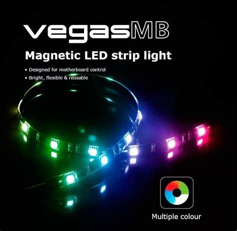 akasa vegas mb rgb magnetic led light designed for
