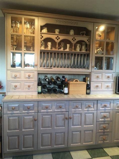 kitchen units magnet  english limed oak  cabinets excellent condition  coupar