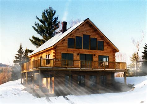 small log cabin floor plans with loft alpine log home plan by coventry log homes inc