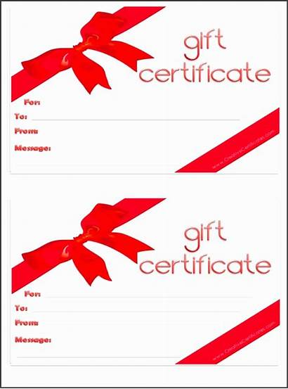 Certificate Gift Template Printable Templates Christmas Certificates