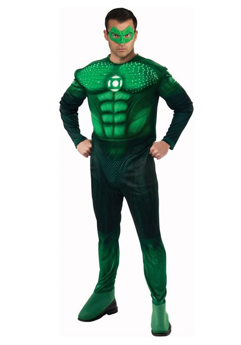 light up green lantern costume