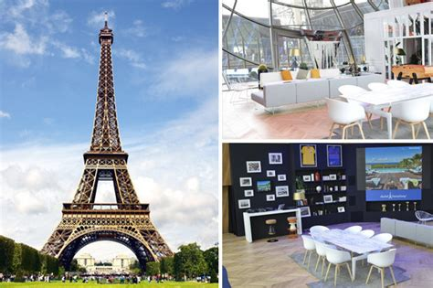 Luxury Apartment In Overlooking The Eiffel Tower by Eiffel Tower Has A New Luxury Apartment Take A Look
