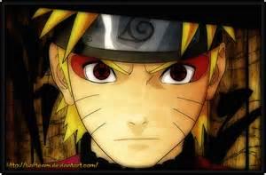 Naruto with Byakugan Sharingan Mixed