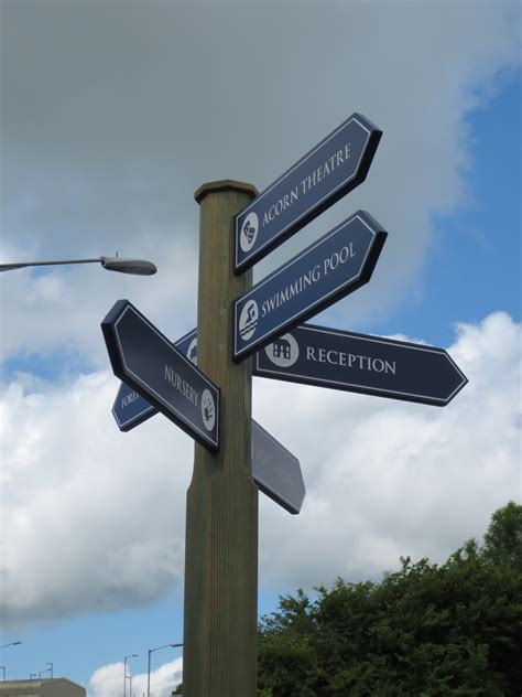 Wood Sign Posts & Wooden Fingerpost Signs - The Grain Sign ...