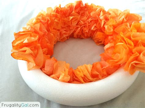 One diy project and yard sale find at a time. DIY Coffee Filter Wreath Tutorial - Frugality Gal