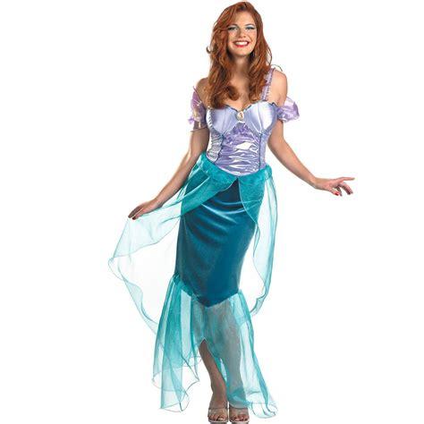 ariel costume  teen womens  mermaid ariel