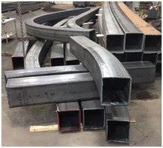 curved structural steel   denver civic center station steel canopy  chicago curve