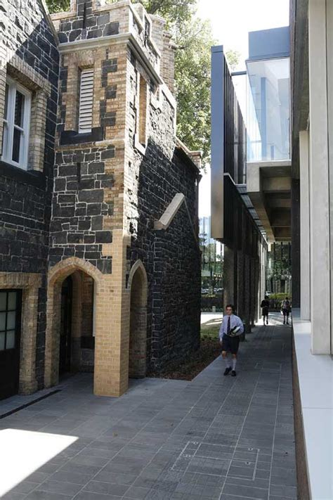 melbourne school building nigel peck centre  architect