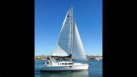 hunter  sailboat   sale  san diego california