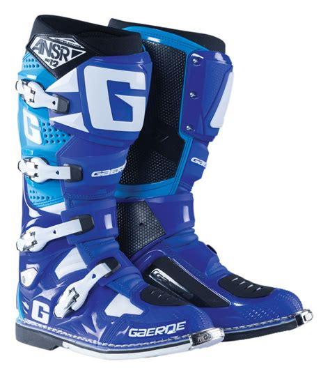 blue dirt bike boots answer sg 12 boots 20 125 99 off revzilla