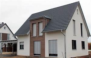 Massivhaus Aus Polen : einfamilienhaus holzhaus satteldach gaube mit flachdach ~ Articles-book.com Haus und Dekorationen
