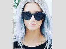 Denim hair is the latest trend as women dye their hair