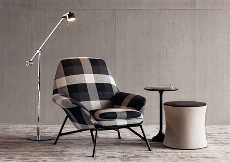 Poltrone Moderne Dwg : Armchairs From Minotti